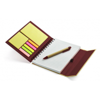 Piezīmju komplekts - bloks, piezīmju lapiņas, pildspalva Nr.141/23