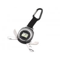 Multifunkcionāls pulkstenis Nr. 172/16 (pulkstenis, hronometrs, modinātājs, kompass, LED lukturis, pudeļu attaisāmais)