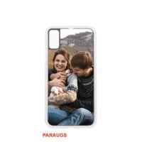 Telefona maks Nr. 218/6 (Iphone XR -caurspīdīgs/gumijots)  - sublimējams