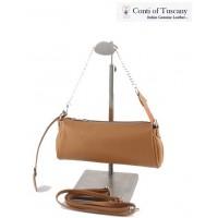 Conti of Tuscany dabīgas ādas bēšīga sieviešu soma Nr.42/37