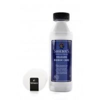 Velūra, nubuka, zamšādas kopšanas līdzeklis melns, 75 ml Nr. 49/44