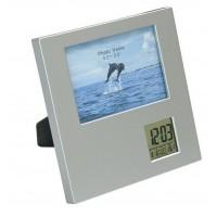 Multifunkcionāls fotorāmis ar pulksteni Nr.99/163