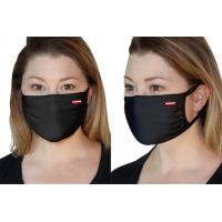 Melna sejas aizsargmaska Nr.240/6k (ar karodziņu)
