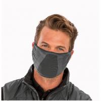 Pelēka sejas aizsargmaska Nr.241/12 (ar antibakteriālu šķiedru)