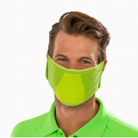 Zaļa sejas aizsargmaska Nr.241/14