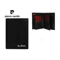 Pierre Cardin dabīgas ādas maks Nr.257/4 (ar datu aizsardzības funkciju)